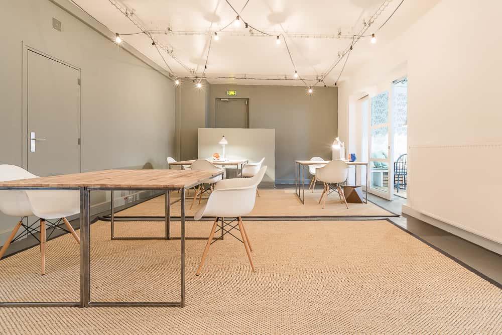 Coworking créatif bureaux studios rue de la jonquière paris