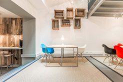 espace showroom be-coworking rue de la jonquiere paris 17