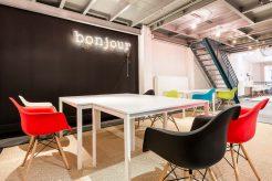 espace studio mode be-coworking rue de la jonquiere paris 17
