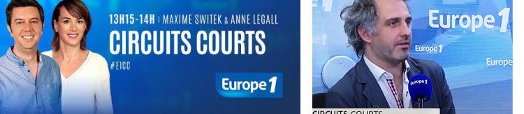 Ruben Grave sur Europe 1 : télétravail et coworking